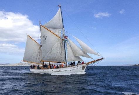 The Sail Training Ship, The Julie Burgess
