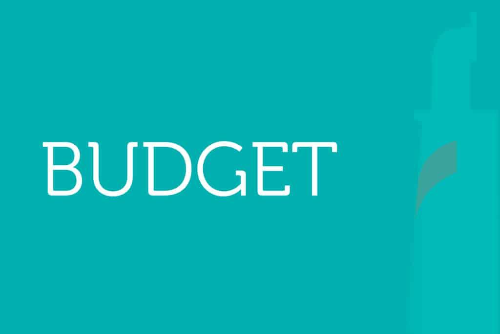 Budget Website News Block
