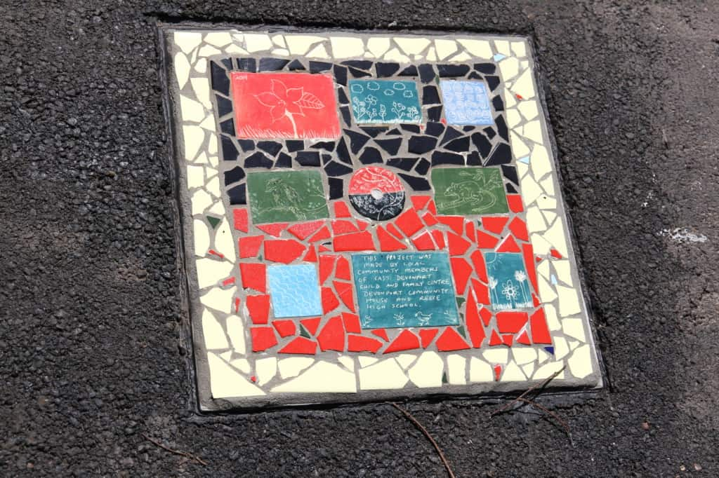 Mary Binks Wetlands Community Mosaic Project 1