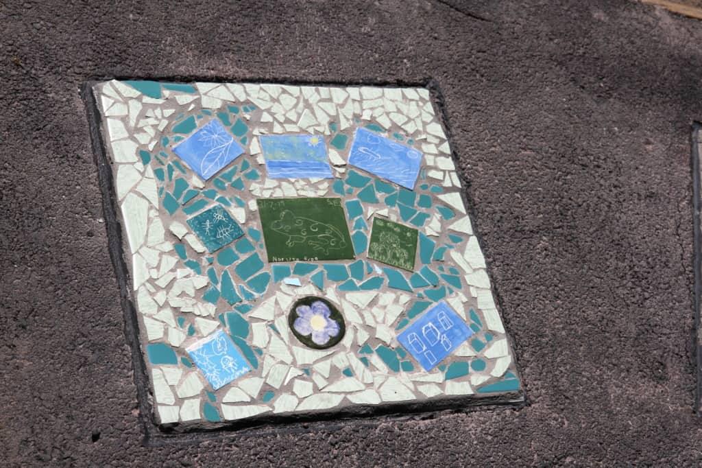 Mary Binks Wetlands Community Mosaic Project 3