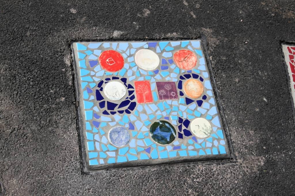 Mary Binks Wetlands Community Mosaic Project 6