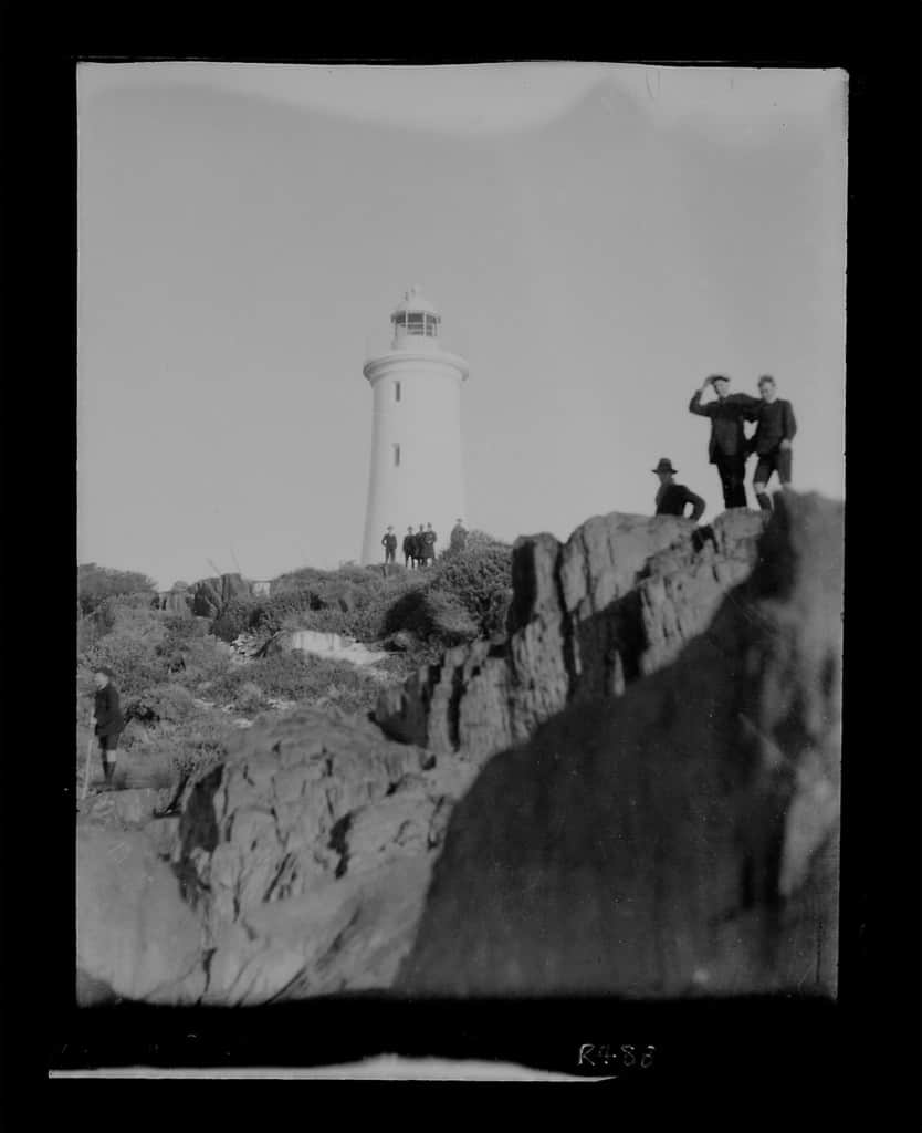The Robinson Collection, DCC Permanent Collection Mersey Bluff lighthouse Date Unknown Devonport