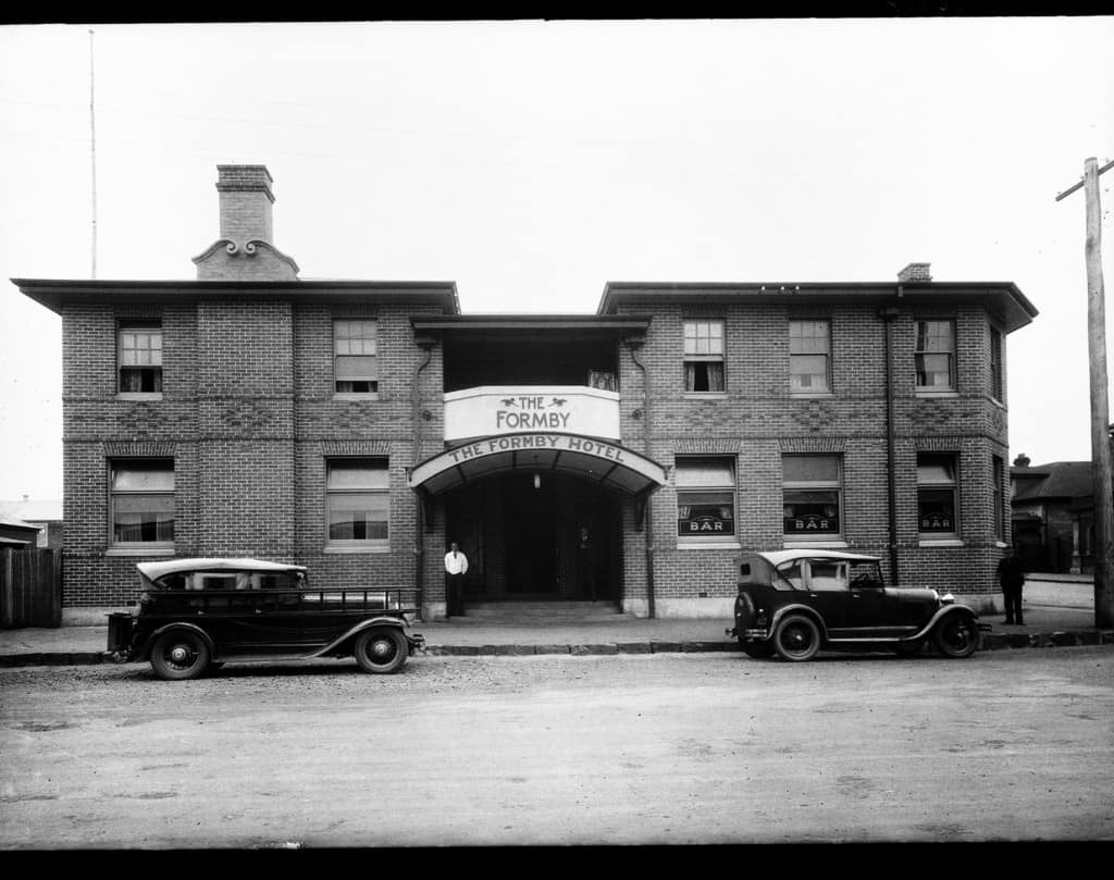 The Robinson Collection, DCC Permanent Collection Formby Hotel  1934 Devonport