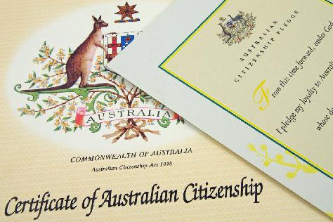 citizenship ceremony australia day
