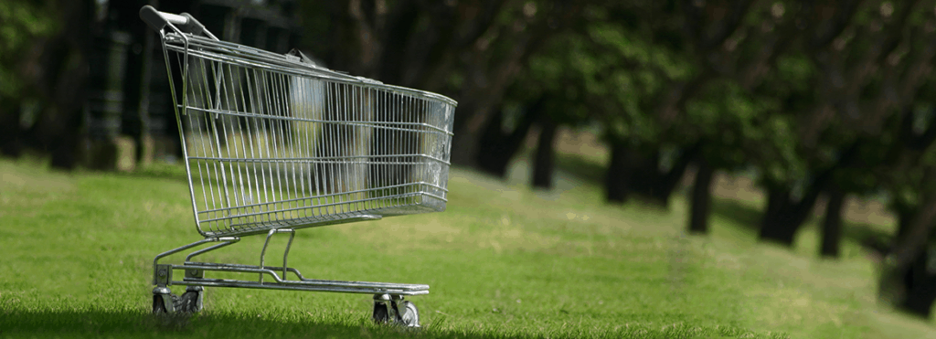 abandon shopping trolleys cause environmental damage and nuisance