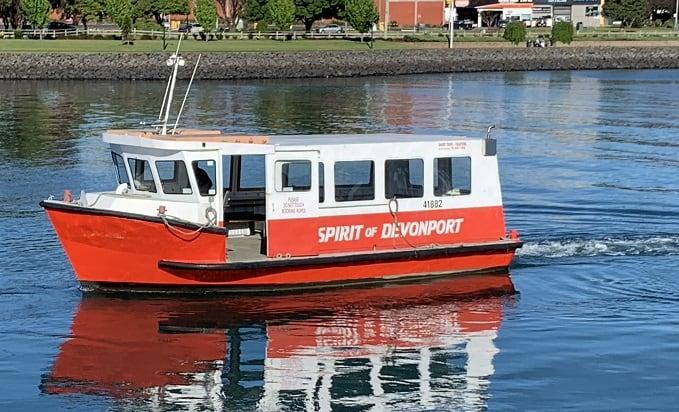 spirit of devonport ferry