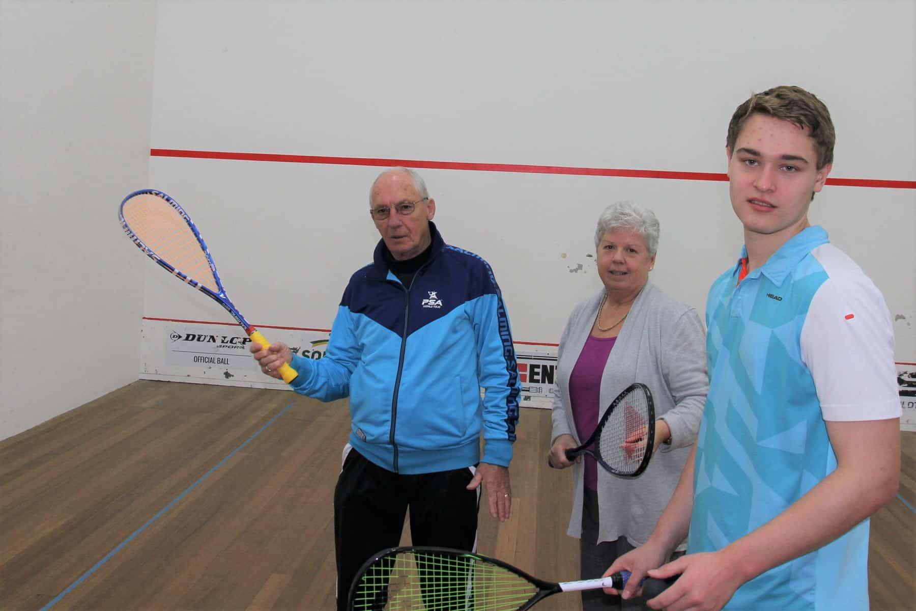 Top level men's squash coming to Devonport