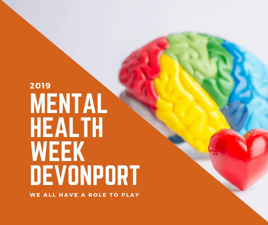 Devonport to Light Up Orange for Mental Health Week