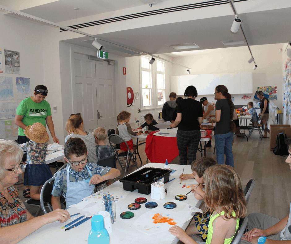 Koinobori making workshop