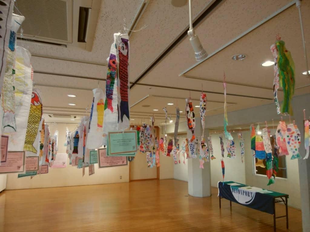 Koinobori on display in Minamata 5