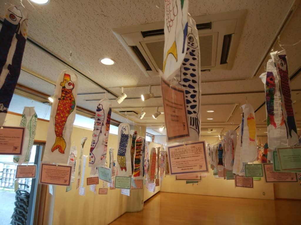 Koinobori on display in Minamata 4