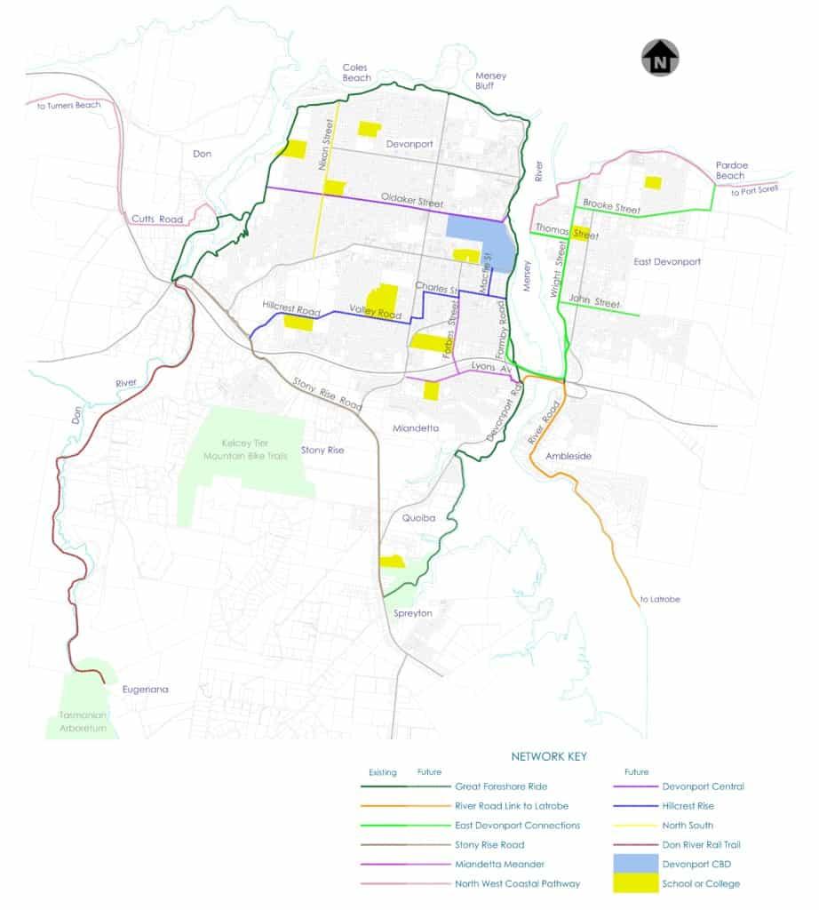 Bike Riding Strategy 2015 Future Network Map