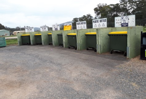 Spreyton WTS Recycling Crates