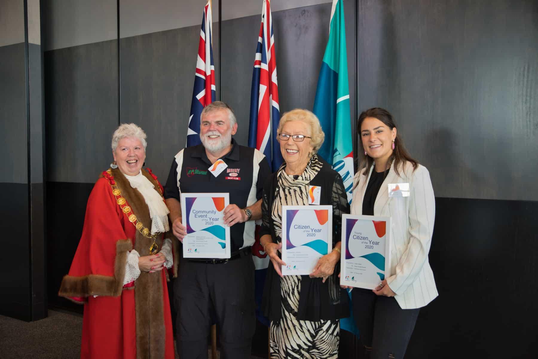 Long serving community volunteer named Devonport's Citizen of the Year