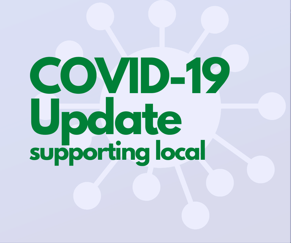 COVID-19 Update supporting local food businesses