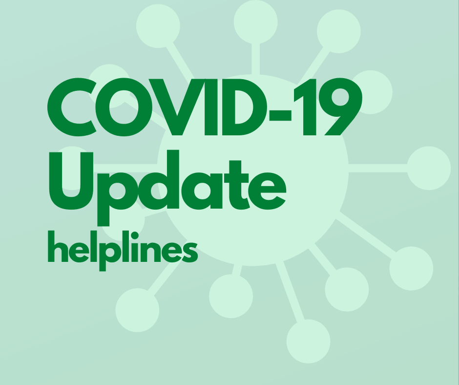 COVID-19 Update Helplines