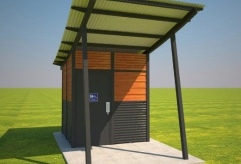 BUILD Horsehead Creek New Toilet Block and Link Path ILLUSTRATIVE ONLY