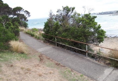 POS Bluff Headland Handrail replacement and extension1