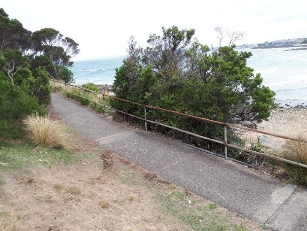 Bluff Headland - Handrail replacement and extension