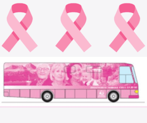 An image of the Breast Screening bus