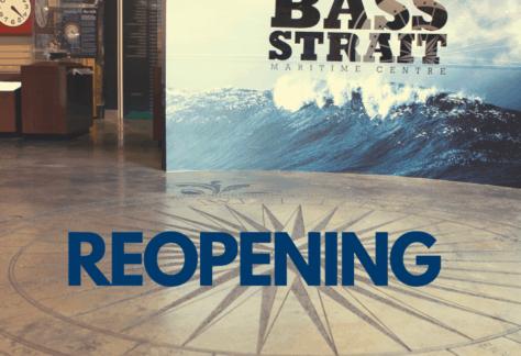 Bass Strait Maritime Centre - Reopening Thursday, 1 October 2020