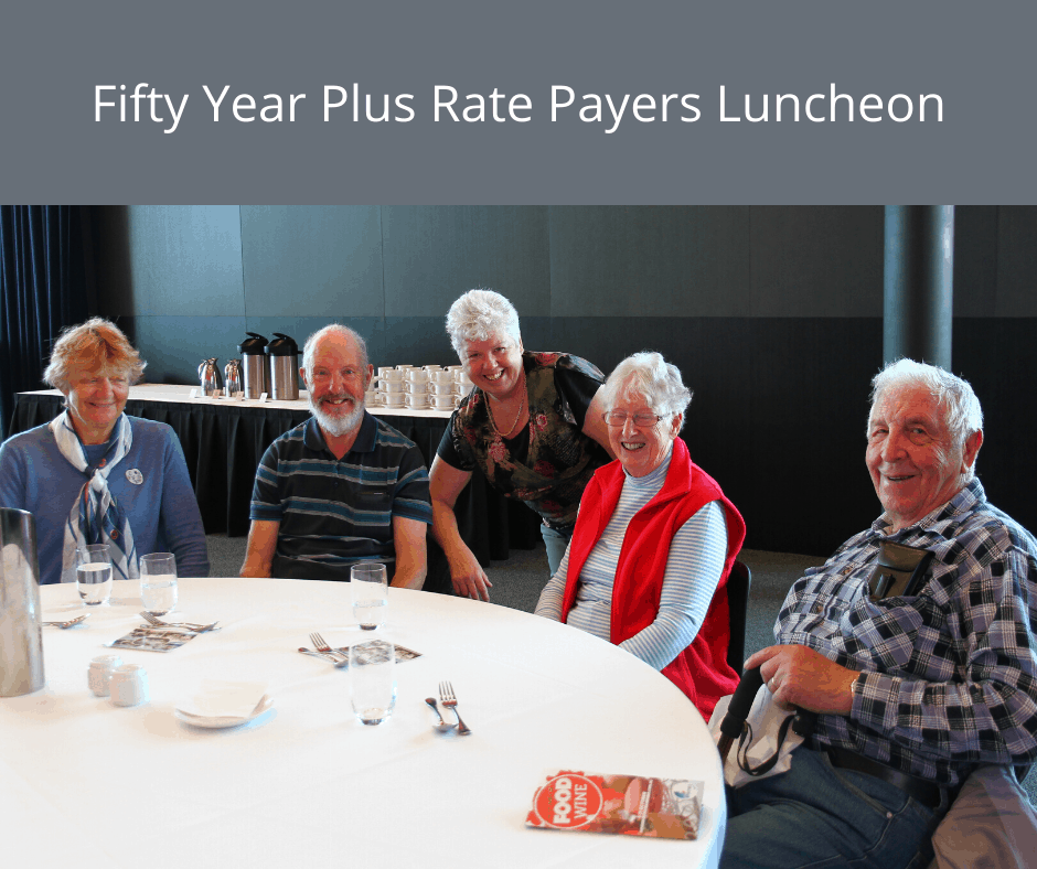 Fifty Year Rate Payers Luncheon