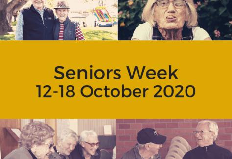Get Involved in Seniors Week 2020