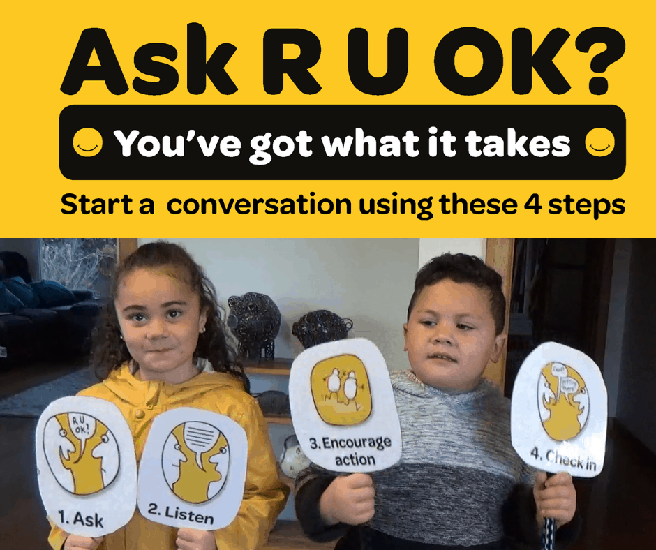 R U Ok - You have got what it takes