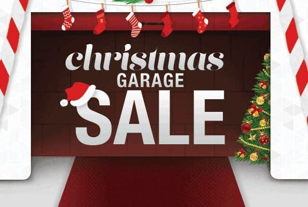 christmas garage sale