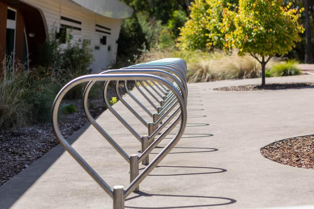 2021 Splash Devonport Aquatic and Leisure Centre bike rack 1