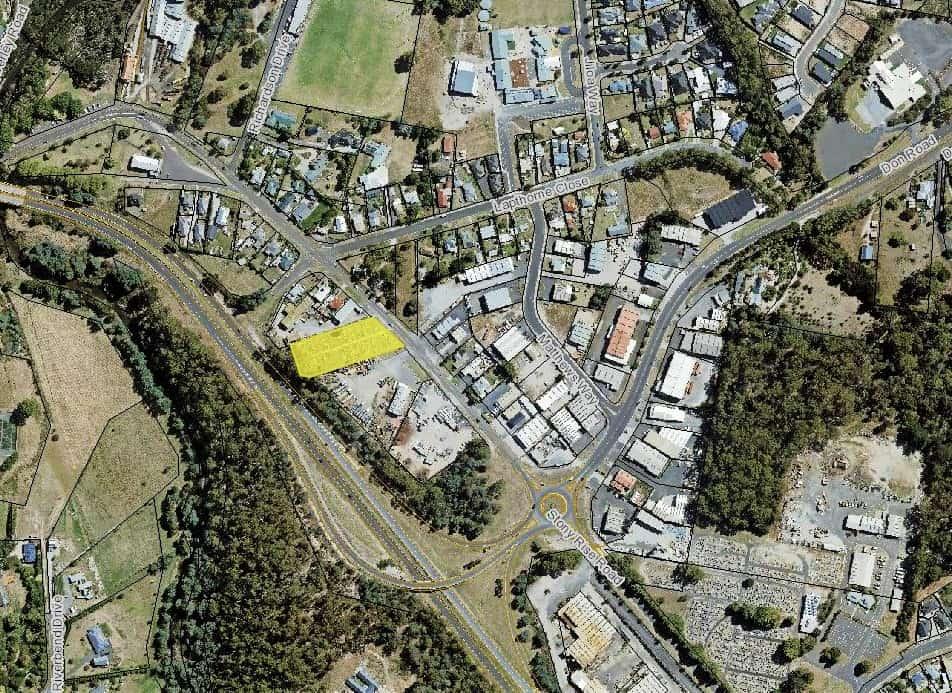 Location Aerial Congregational Cemetery