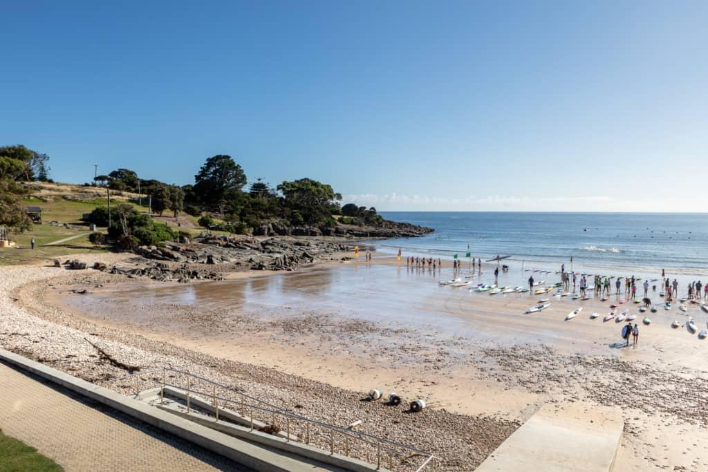 2021 Bluff Beach. Devonport Surf Club. Image Credit Kelly Slater 9