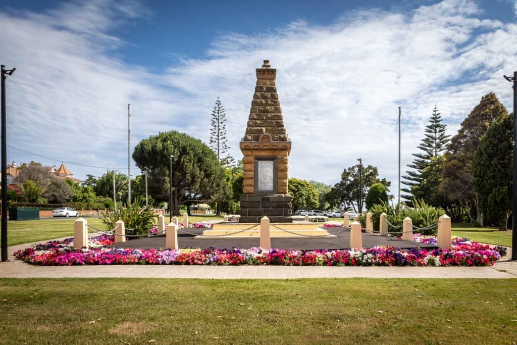 Cenotaph Garden Kelly Slater