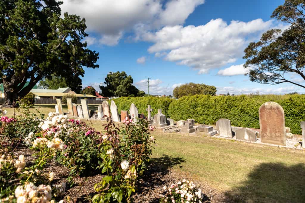 Pioneer park Cemetery 2 Kelly Slater