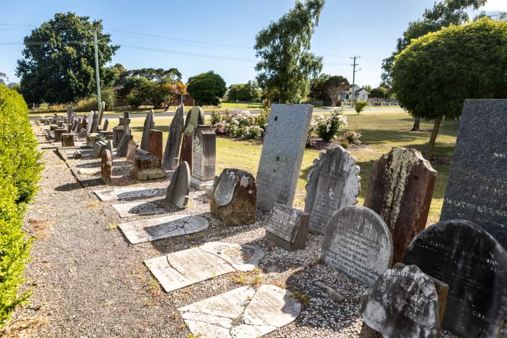 Pioneer park Cemetery 4 Kelly Slater