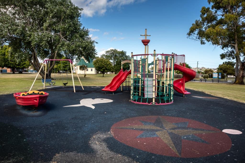 Pioneer park playground 1 Kelly Slater