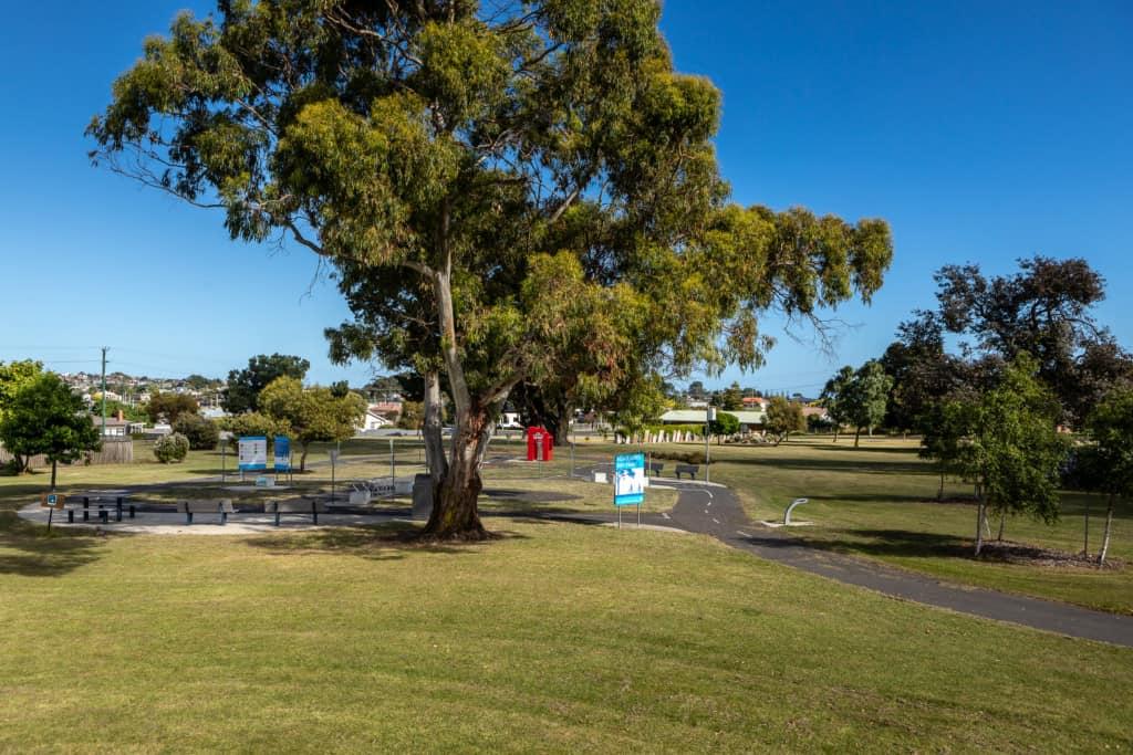 Pioneer park playground 2 Kelly Slater