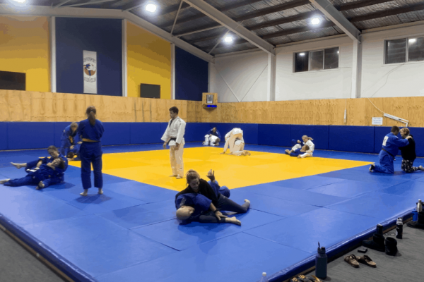 The refurbished Devonport Judo Dojo, which was possible through Council's Financial Assistance Grant.